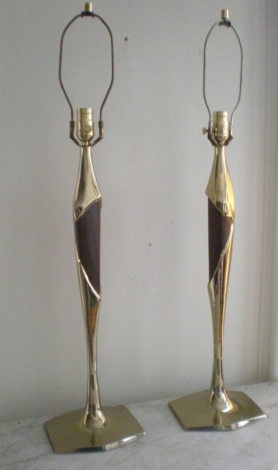 Mid Century Sculpture Lamps/ Rewired Price Reduced